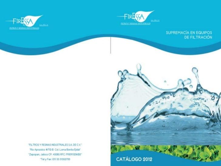 Catalogo de productos firessa 2012