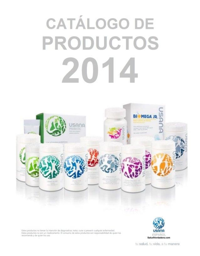 catalogo de productos usana mexico 2014
