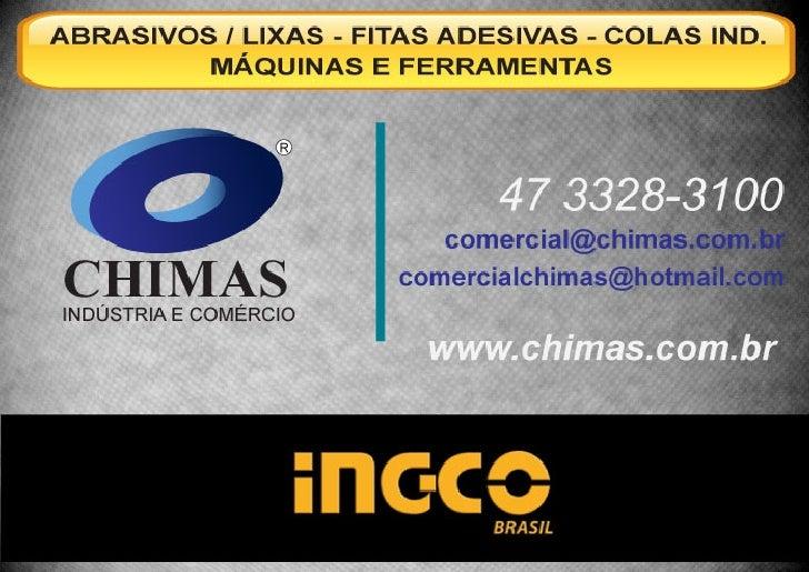 Catálogo de produtos Chimas Máquinas e Ferramentas Ingco