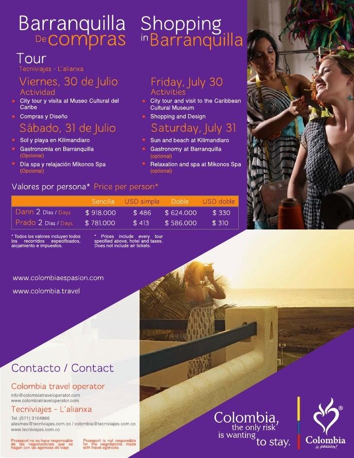 Descubre los destinos turísticos de Barranquilla