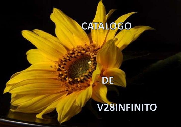 Catalogo <br /> de<br />                V28INFINITO<br />