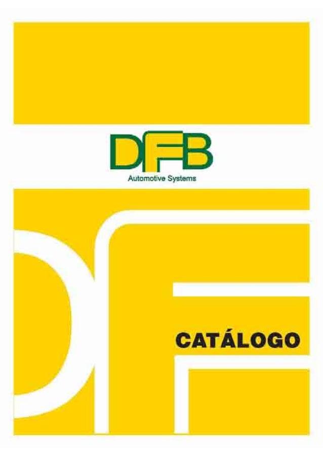 Catálogo DFB 2013