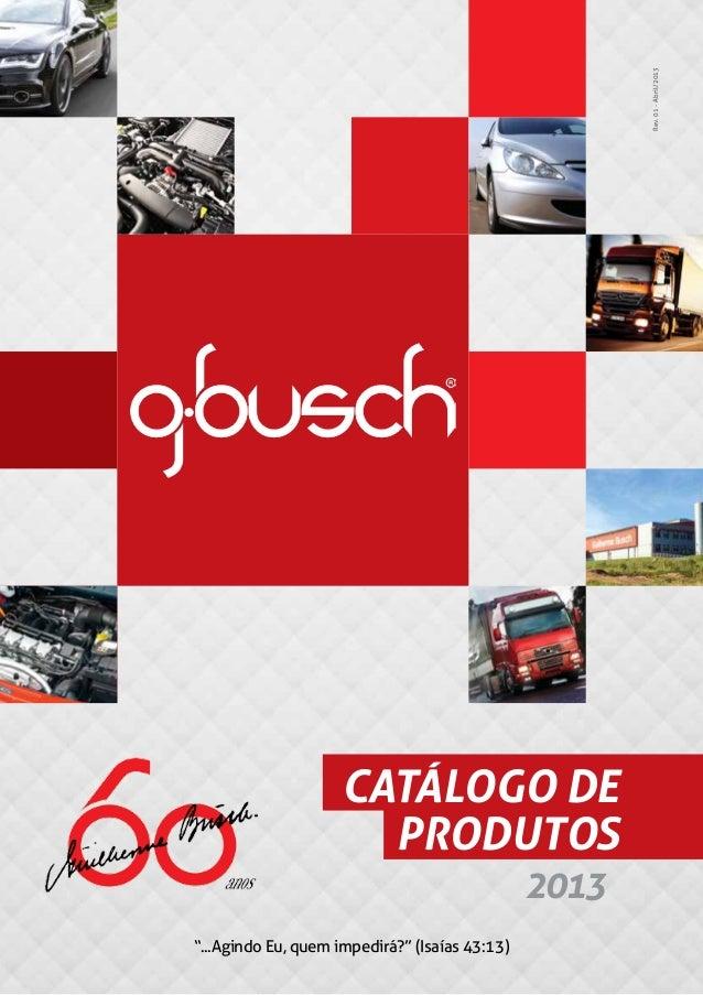 Catalogo g busch 2013 for Catalogo grand prix