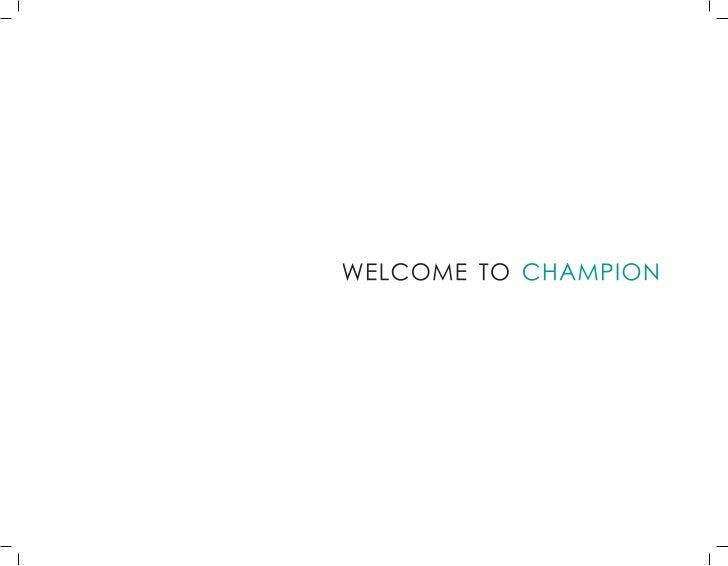 Catalogo Champion
