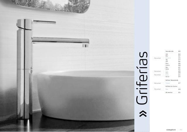 Catalogo griferia gala jrsink fontaner a 2013 for Sodimac griferia bano