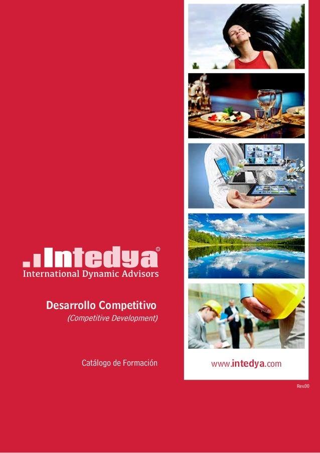 Catálogo de Formación Rev.00 Desarrollo Competitivo www.intedya.com