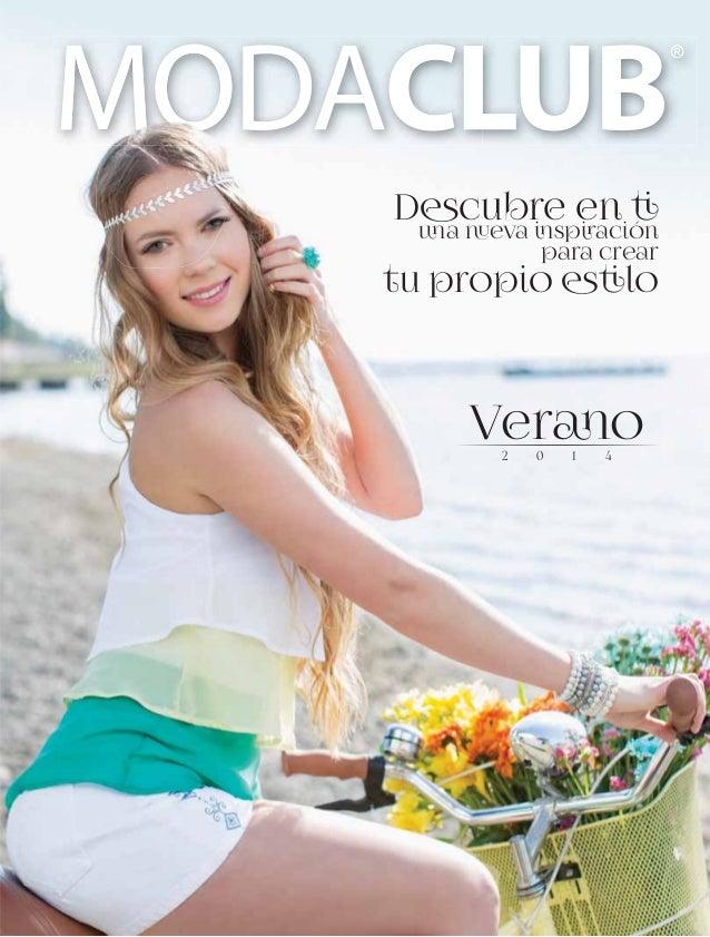 2) Catalogo Intermedios Verano 2014 Moda Club