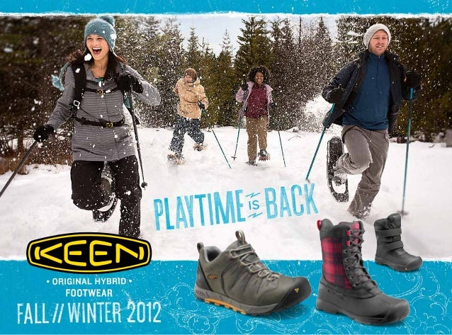 Catalogo Keen  FALL-WINTER 2012-2013