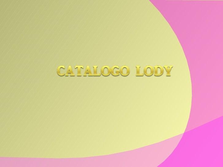 Catalogo Lody