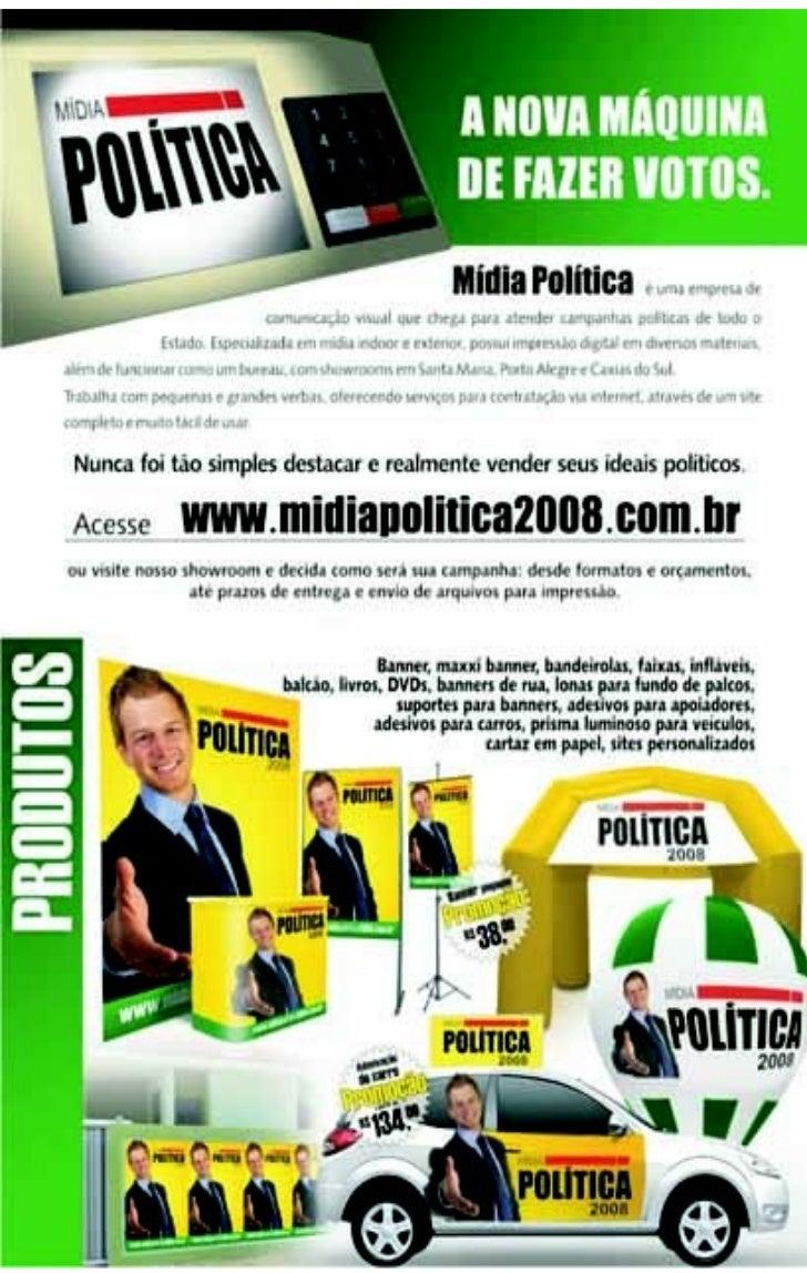 Catálogo - Mídia Política 2008