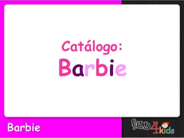 Catálogo: Barbie