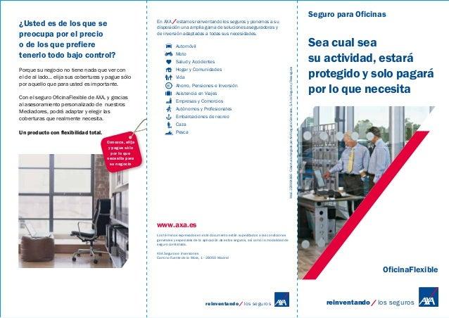 Catalogo oficina for Axa seguros bilbao oficinas