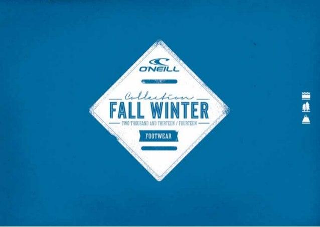 O'Neill Calzado FALL WINTER 2013-2014