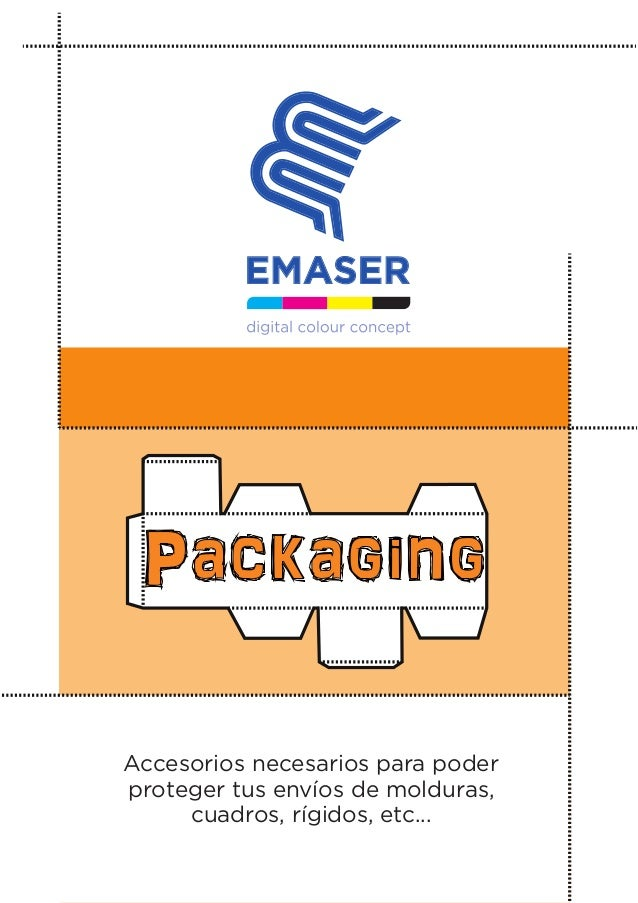 Packaging Accesorios necesarios para poder proteger tus envíos de molduras, cuadros, rígidos, etc...