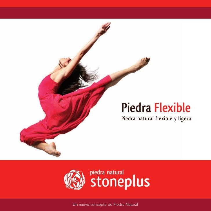 Catalogo piedra flexible stoneplus ®