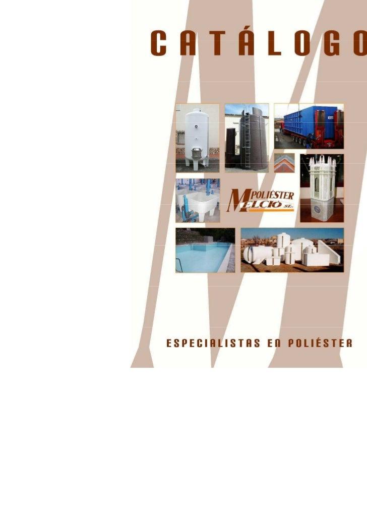 Catálogo Poliéster Melció