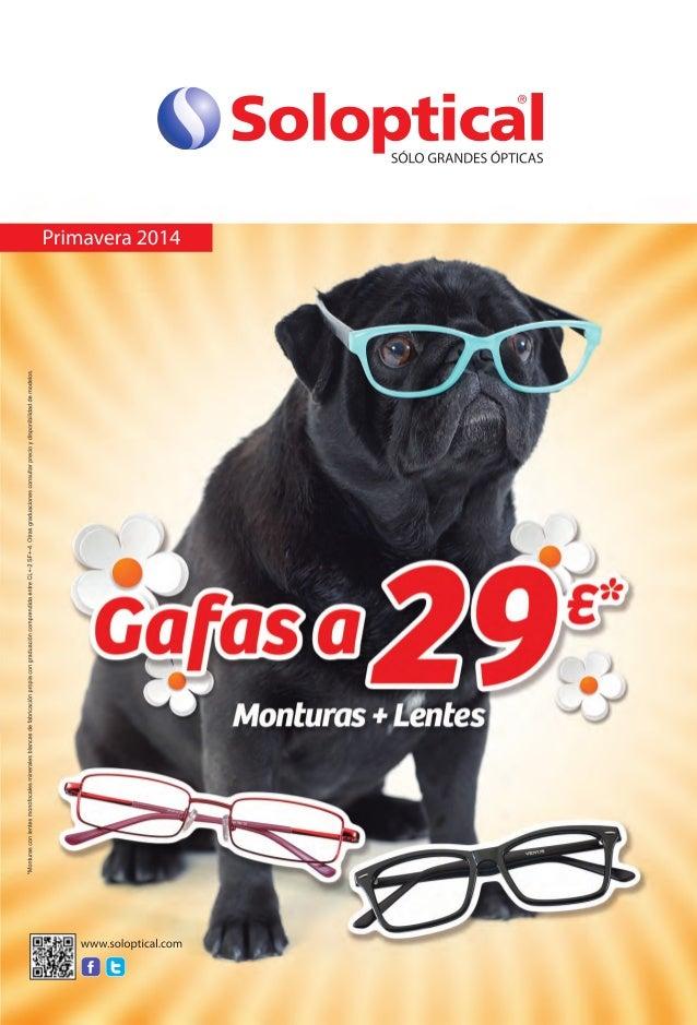 Catalogo Soloptical Primavera 2014