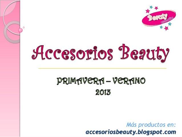 Más productos en:accesoriosbeauty.blogspot.com