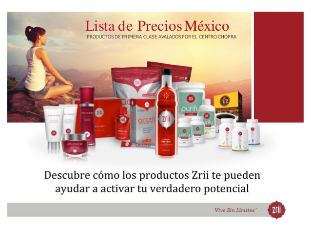 Catalogo Productos Zrii. SAEZ.