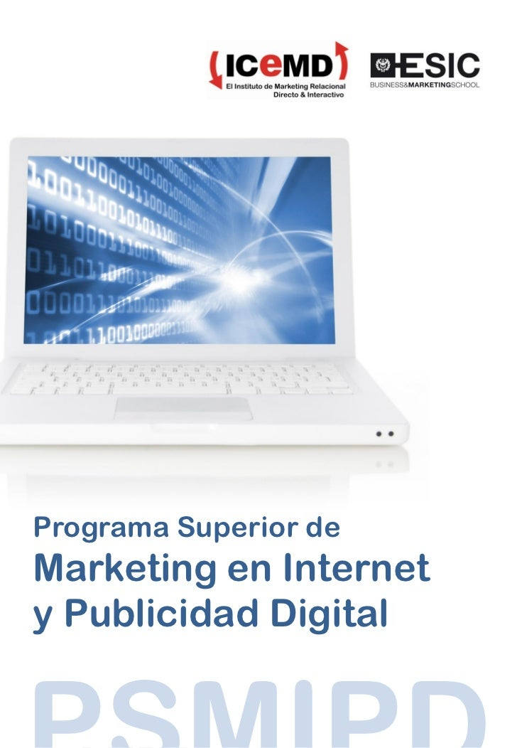 Programa Marketing en Internet y Publicidad Digital