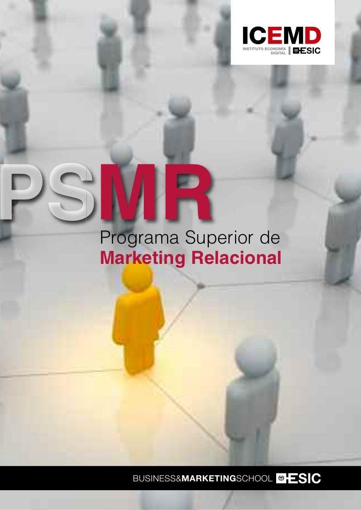 Programa Superior de Marketing Relacional