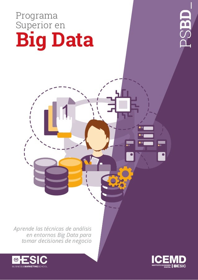 BUSINESS&MARKETINGSCHOOL PSBD_ Aprende las técnicas de análisis en entornos Big Data para tomar decisiones de negocio Prog...