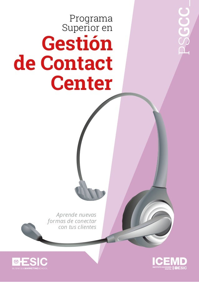 Programa Superior de Gestión de Contact Center