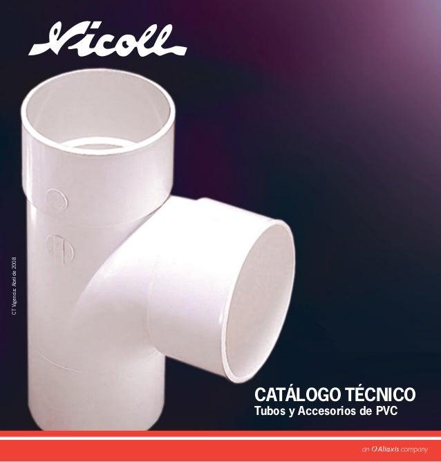 CATÁLOGO TÉCNICO Tubos y Accesorios de PVC CTVigencia:Abrilde2008