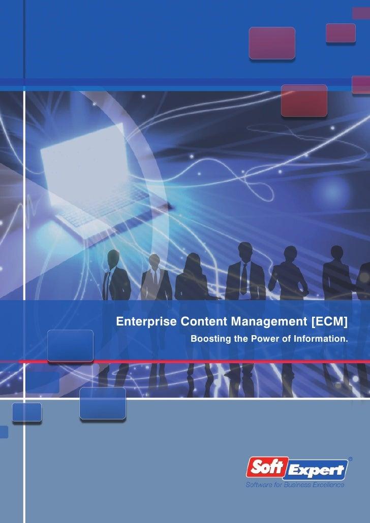 Gestión de Contenidos Empresariales (ECM)
