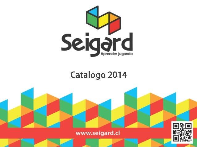 Desde 1990 Seigard Chile, es una institución dedicada al suministro de recursos especializados para la educación; una ofer...