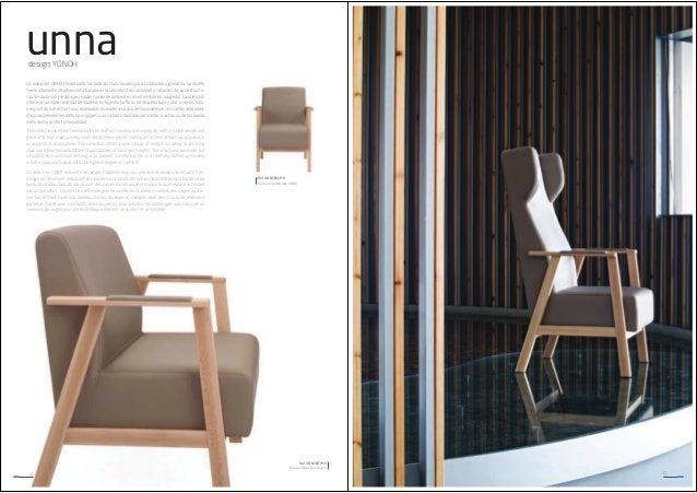 unna design: YONOH La colección UNNA reinterpreta las butacas tradicionales para instalación y geriatría. Su diseño tremen...