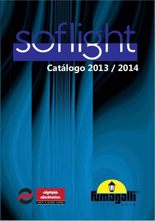 Catalogo soflight    olympia 2013