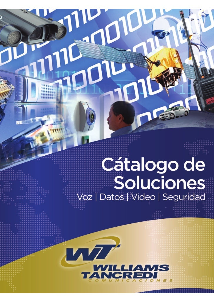 Catalogo soluciones williams tancredi