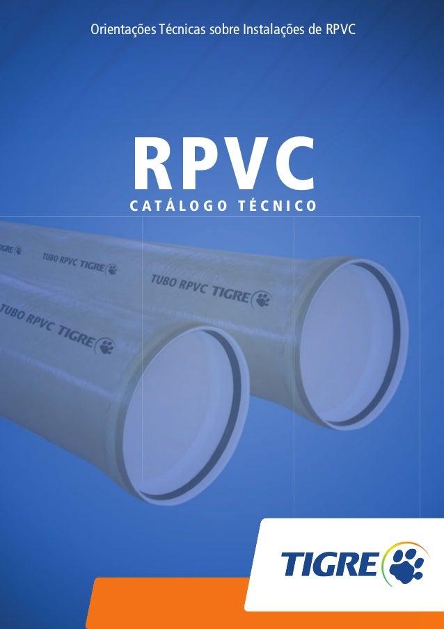 Orientações Técnicas sobre Instalações de RPVC                                      RPVC                                  ...