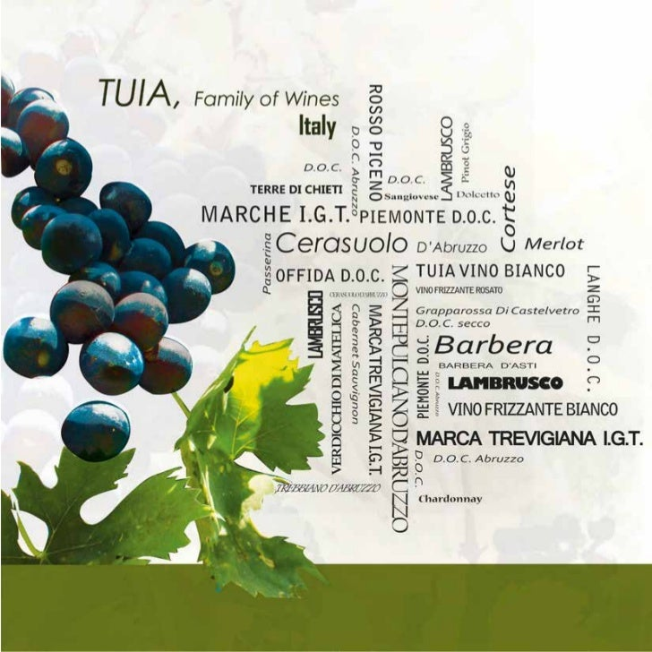 TUIA IN THE WORLDTuia was founded by the Di      Our mission is to export to the world the most amazing Italian wines that...