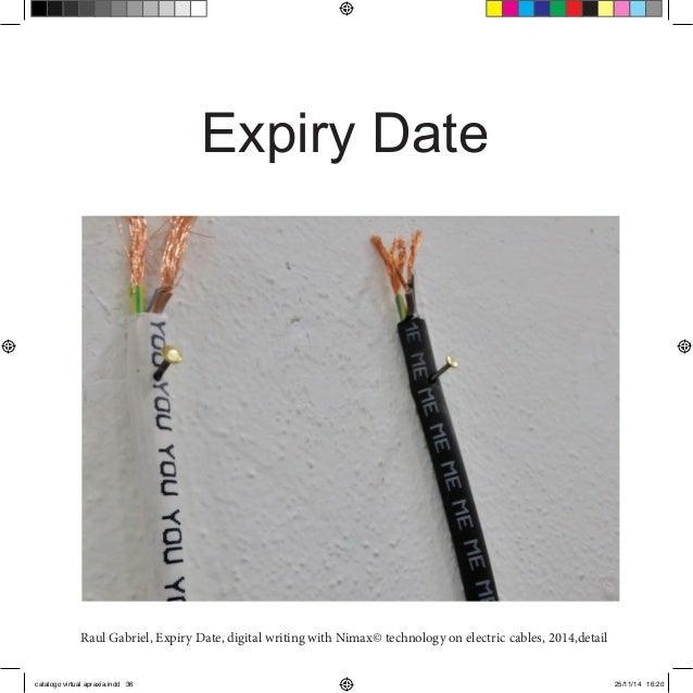 Expiry Date Format Expiry Date Raul Gabriel