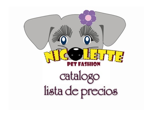 Catalogo virtual nicolette pet fashion
