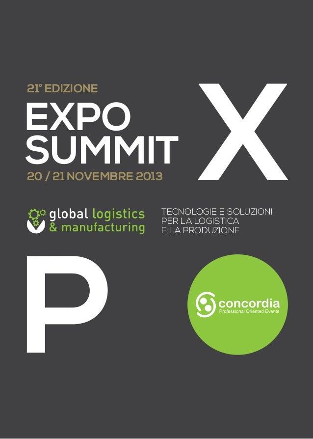 catalogo del Global Logistics & Manufacturing 2013