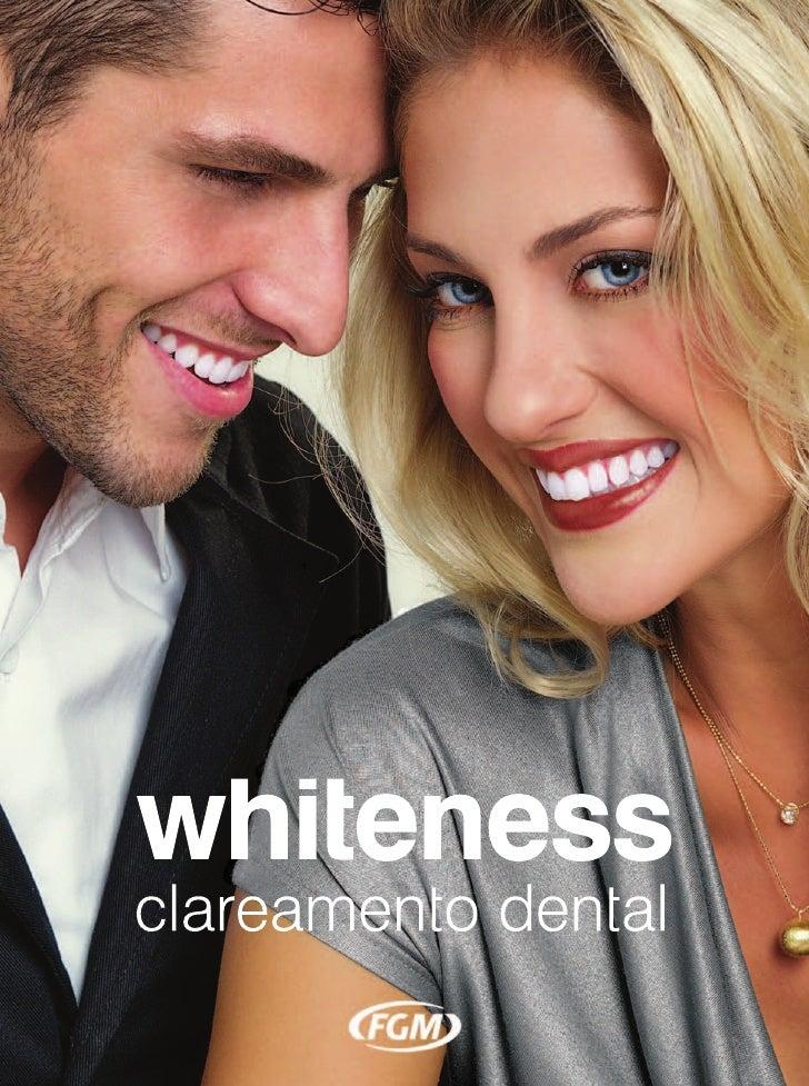 Whiteness Clareamento Dental - Catálogo Português