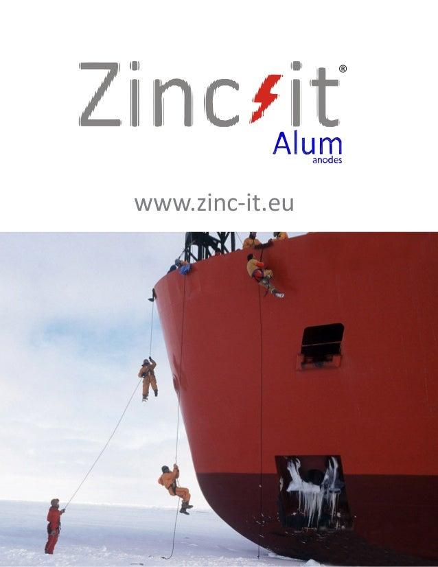 Zinc-it Alum anodes catalogue 2013