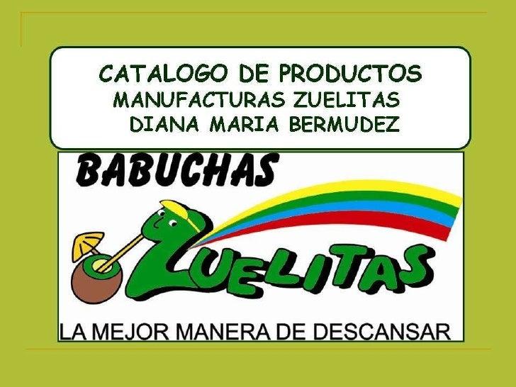 Catalogo Zuelitas