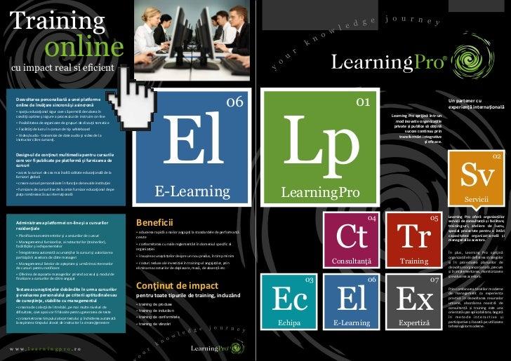 Catalog traininguri 2012 LearningPro