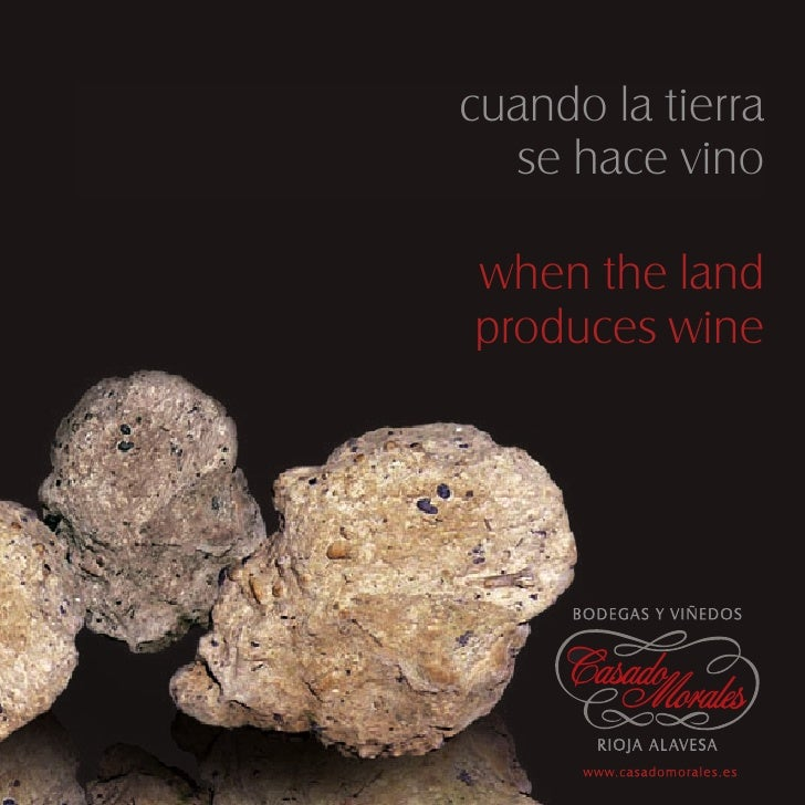 cuando la tierra   se hace vino  when the land produces wine          BO D E G A S Y V I Ñ E D O S                        ...