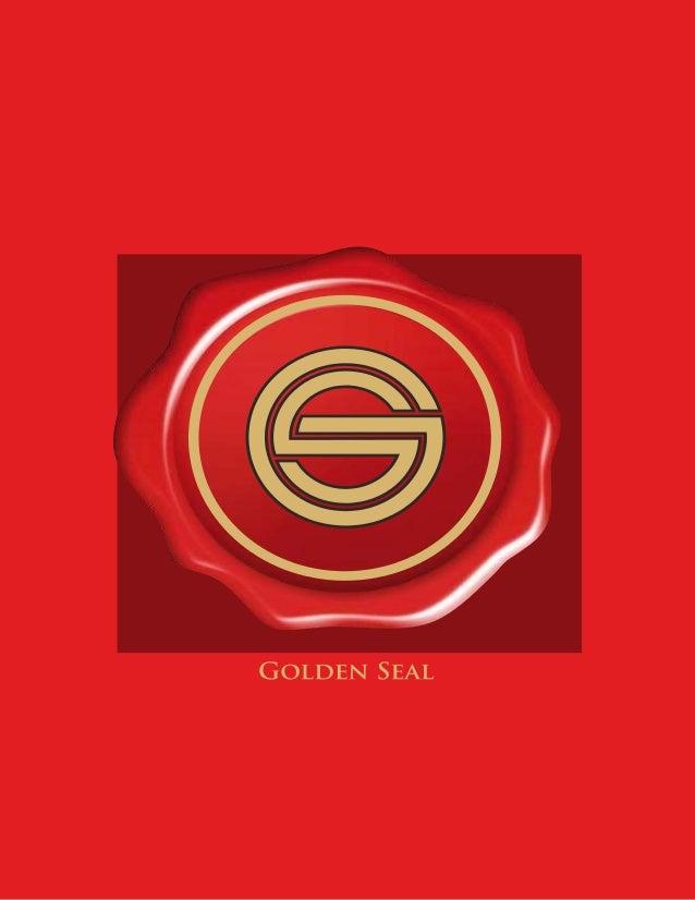 Golden Seal Catalogue