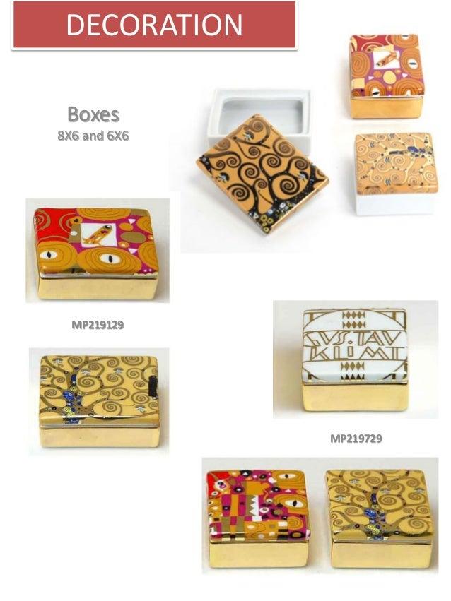 Catalogue Produits dérivés Klimt et Sécession viennoise