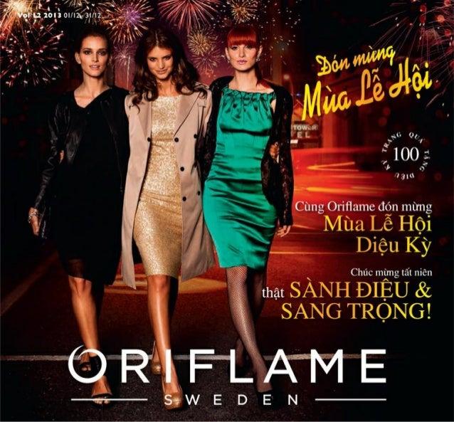 Catalogue My Pham Oriflame 12-2013