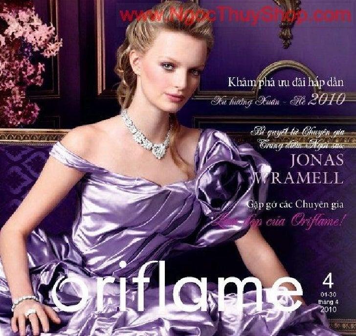 Catalogue My Pham Oriflame 4 2010