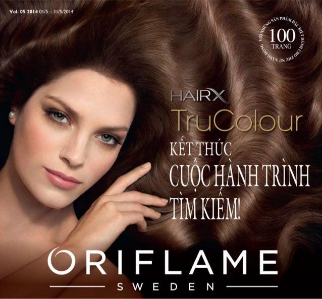 Catalogue My Pham Oriflame 5-2014