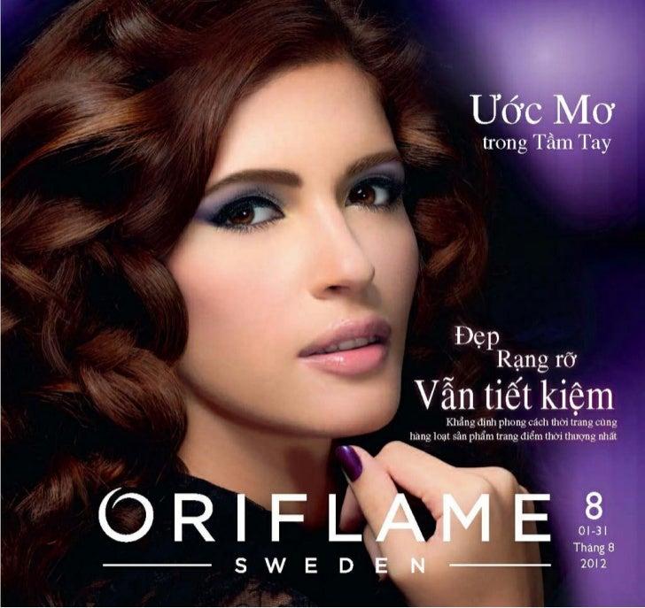 Catalogue Oriflame 8-2012