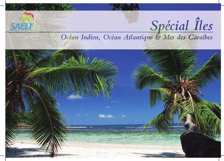 Brochure SAELT Spécial Iles